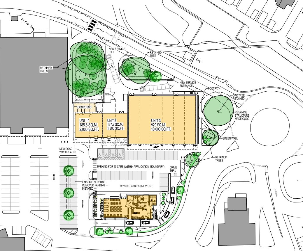 Eastgate Proposed Layout