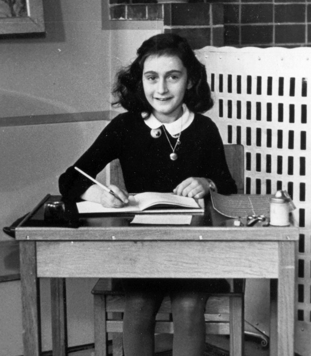 By Unknown photographer; Collectie Anne Frank Stichting Amsterdam (Website Anne Frank Stichting, Amsterdam) [Public domain], via Wikimedia Commons